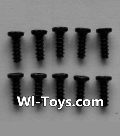 Wltoys L353 Round head self-tapping screws Parts(10pcs)-M2X6,Wltoys L353 Parts