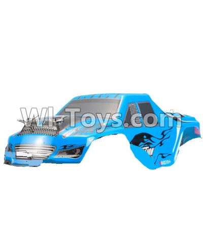 Wltoys P929 Body Shell cover Parts-Blue,Wltoys P929 Parts