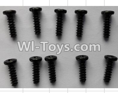 Wltoys P949 Round Head self-tapping Screws(10pcs)-M3X10,Wltoys P949 Parts
