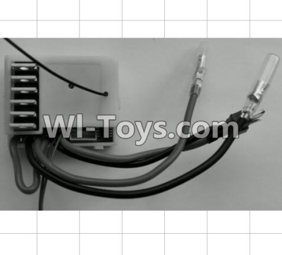 Wltoys P949 2.4G Receiver board Parts,Circuit board,Wltoys P949 Parts