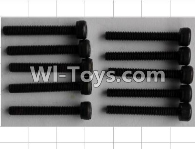Wltoys P949 Cup head Inner six angle screw(10pcs)-M3X22,Wltoys P949 Parts