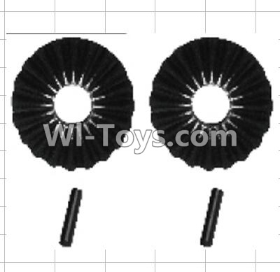 Wltoys P949 K949-44 Reduction gear with shaft Parts-(2pcs),Wltoys P949 Parts