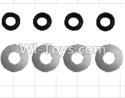 Wltoys P949 K949-70 Flat washer Parts-(8pcs),Wltoys P949 Parts