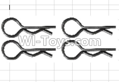 Wltoys P949 K939-49 R-Shape Shell Pin Parts-(4pcs),Wltoys P949 Parts