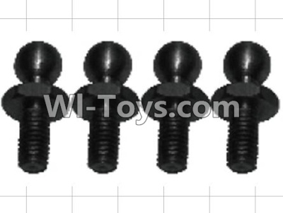 Wltoys P949 K949-73 4.8 Ball head screws Parts-(4pcs),Wltoys P949 Parts