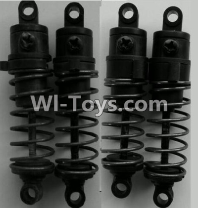 Wltoys P959 Front and Rear Shock Absorber Parts-(Total 4pcs),Wltoys P929 Parts