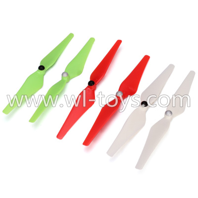 WLtoys V393 Parts-Upgrade Main rotor baldes(2x Green,2X Red,2X White)