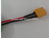 WLtoys V393 Parts-XT60 Mother plug wire for the Circuit board