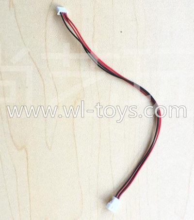 WLtoys V393 Parts-Plug wire with Two plug for holes