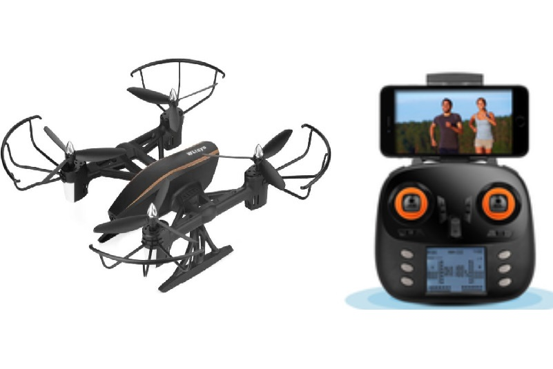 Wltoys Q373-C FPV Quadcopter(Include the 2,000,000 PIXELS HD Camera,Support frame) Wltoys-Quadcopter-all