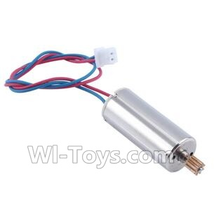 Wltoys Q222K Q222G rotating Motor with red and Blue wire(1pcs),Wltoys Q222K Q222G RC Drone Parts,Q222K RC Quadcopter Parts