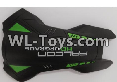 Wltoys Q323 Upper body shell cover,Wltoys Q323 Parts,Wltoys Q323-B Q323-C Q323-E Parts