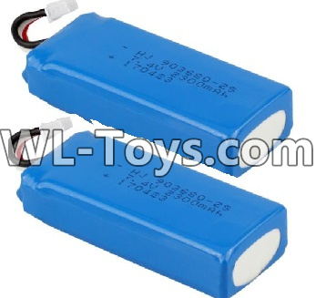 Wltoys Q323 Battery-7.4V 2300MAH Battery(2pcs)-Q323-11 ,Wltoys Q323 Parts,Wltoys Q323-B Q323-C Q323-E Parts
