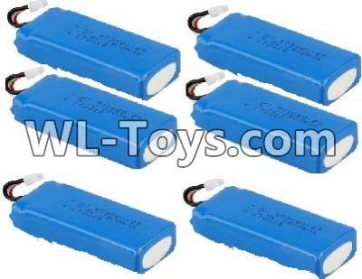 Wltoys Q323 Q323-11 7.4V 2300MAH Battery(6pcs),Wltoys Q323 Parts,Wltoys Q323-B Q323-C Q323-E Parts