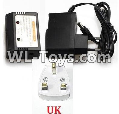 Wltoys Q323 Charger and Balance charger(With UK Version Plug),Wltoys Q323 Parts,Wltoys Q323-B Q323-C Q323-E Parts