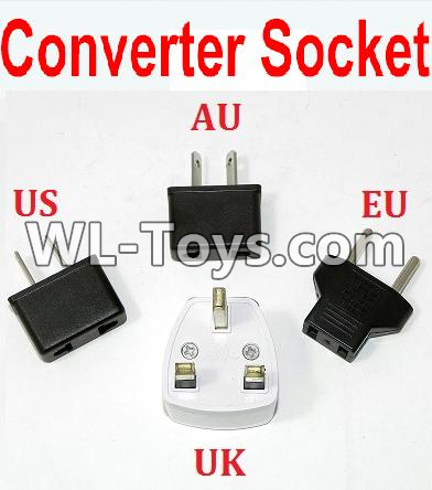 Wltoys Q323 Standard Adapter Universal Converter Socket(You can choose AU,US,EU,UK Version),Wltoys Q323 Parts,Wltoys Q323-B Q323-C Q323-E Parts