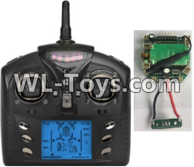 Wltoys Q323 Transmitter & Receiver board Parts,Circuit board,Wltoys Q323 Parts,Wltoys Q323-B Q323-C Q323-E Parts