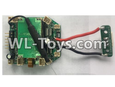 Wltoys Q323 Receiver board Parts,Circuit board,Wltoys Q323 Parts,Wltoys Q323-B Q323-C Q323-E Parts