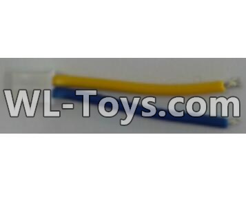 Wltoys Q323 Motor convert wire with Yellow and Blue wire(1pcs),Wltoys Q323 Parts,Wltoys Q323-B Q323-C Q323-E Parts