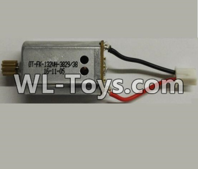 Wltoys Q323 Rotating Motor with red and Black wire(1pcs)-CW Motor,Wltoys Q323 Parts,Wltoys Q323-B Q323-C Q323-E Parts