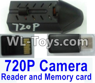 Wltoys Q323 Q323-C HD 720P Camera unit Parts & USB Reader and Memory card,Wltoys Q323 Parts,Wltoys Q323-B Q323-C Q323-E Parts