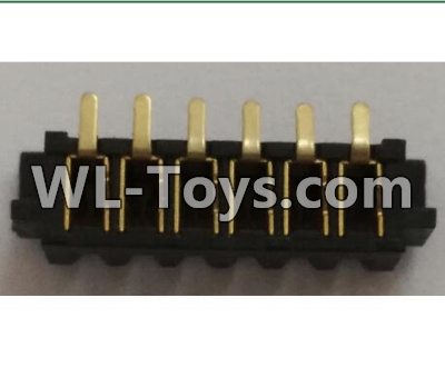 Wltoys Q323 Q323-B 6P female socket,Wltoys Q323 Parts,Wltoys Q323-B Q323-C Q323-E Parts