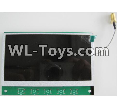 Wltoys Q323 5.8G receiving display Screen,Wltoys Q323 Parts,Wltoys Q323-B Q323-C Q323-E Parts