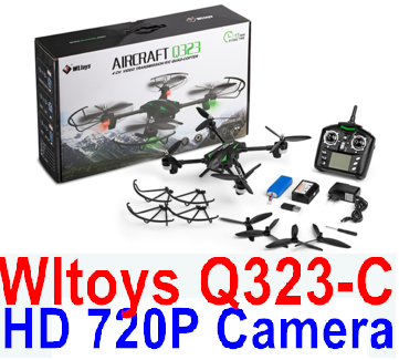 Wltoys Q323-C Wifi Quadcopter (Include the HD 720P Camera unit Parts ),Wltoys Q323 RC Quadcopter Drone