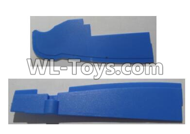 Wltoys Q626 Q626-B Front and rear baffle plates-Blue,Wltoys Q626 Q626-B Parts