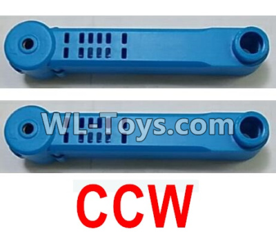 Wltoys Q626 Q626-B Reversing-rotating Arm unit(2pcs CCW)-Blue,Wltoys Q626 Q626-B Parts