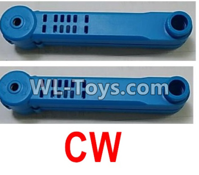 Wltoys Q626 Q626-B Rotating arm unit(2pcs CW)-Blue,Wltoys Q626 Q626-B Parts