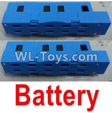 Wltoys Q626 Q626-B Lipo Battery Parts(2pcs)-Blue,Wltoys Q626 Q626-B Parts