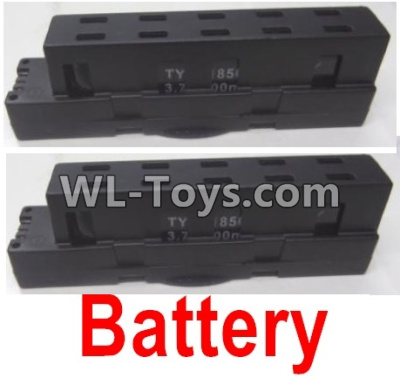 Wltoys Q626 Q626-B Lipo Battery Parts(2pcs)-Black,Wltoys Q626 Q626-B Parts