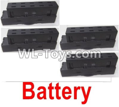Wltoys Q626 Q626-B Lipo Battery Parts(4pcs)-Black,Wltoys Q626 Q626-B Parts