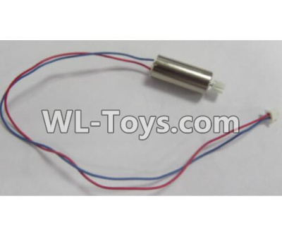Wltoys Q626 Q626-B Rotating Motor with red and Blue wire(1pcs)-L170,Wltoys Q626 Q626-B Parts