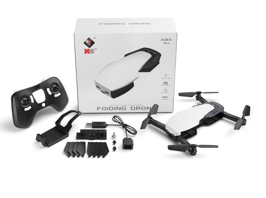 Wltoys Q636-B Quadcopter Drone-720P Wifi FPV Foldable RC Quadcopter,hd Camera G-Sensor Optical Flow Positioning-White Color Wltoys-Quadcopter-all