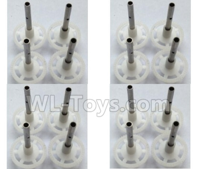 Wltoys-Q838-E Main gear with hollow pipe(16pcs)-Q838-E-16,Wltoys Q838-E Parts,Wltoys Q838-E RC Drone Parts