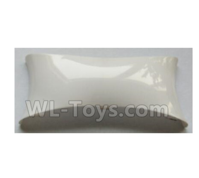 Wltoys-Q838-E Main body cover fitting-White-Q838-E-10,Wltoys Q838-E Parts,Wltoys Q838-E RC Drone Parts