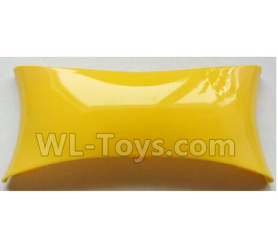 Wltoys-Q838-E Main body cover fitting-Yellow-Q838-E-11,Wltoys Q838-E Parts,Wltoys Q838-E RC Drone Parts