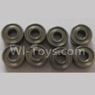 Wltoys V383 Bearing Parts for the Horizontal shaft Group 3(5X2X2.5)-8pcs Parts,Wltoys V383 Parts