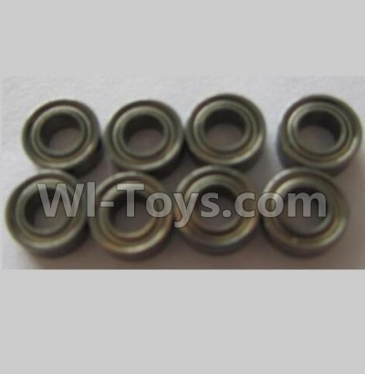 Wltoys V383 Rocker variable pitch Bearing Parts(8pcs)-6x2x3mm Parts,Wltoys V383 Parts