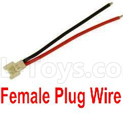 Wltoys V911S Female Plug Wire for the Circuit board(1pcs)-V966.020,Wltoys V911 Parts
