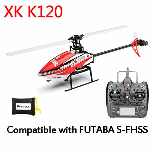 XK K120 RC Helicopter,Wltoys XK X120 6ch Flybarless Helicopter
