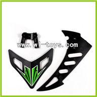 WLtoys V912 Vertical and Horizontal Tail Parts,Wltoys V912 Parts