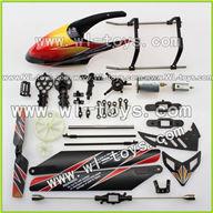 WLtoys V912 Head Cover +blades+motor set Parts,Wltoys V912 Parts