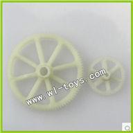 WLtoys V912 Main Gear and Small Gear 2pcs/lot Parts,Wltoys V912 Parts