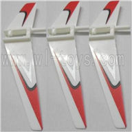 WLtoys V911 Vertical wing(3pcs)-Red