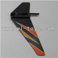 WLtoys V911 Vertical wing(1pcs)-Orange