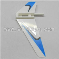 WLtoys V911 Vertical wing (1pcs)-Blue