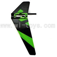 WLtoys V911 Vertical wing (1pcs)-Green